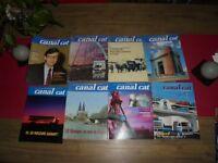 Magazine interne Canal Cat Transport Affrètement Ancien Camion Renault