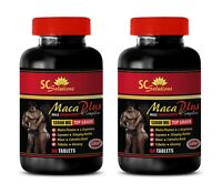 antioxidant complex - MACA PLUS 1300MG - maca herbal secrets - 2 Bottles (120 )