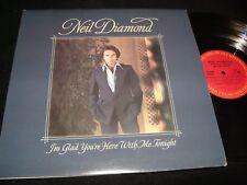 "NEIL DIAMOND<>I'M GLAD YOU'RE HERE... <>12""  Lp Vinyl~Canada Pressing<>WJC-34990"