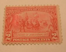 SCOTT #329  2C  1907 JAMESTOWN ISSUE MINT