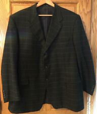 Canali Made In Italy 100% Cashmere Sport Jacket EU Size 60 Used Double Vented