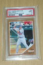 2011 Topps Heritage Minor Minors Mike Trout #44 PSA 9 MINT