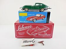 Schuco Micro Racer 1047/1 Jaguar XKE E-Type Green Wind Up New in Box