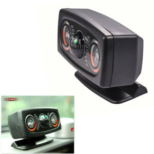 Auto Car Dashboard Compass Inclinometer Sensitive Slope Inclination Show Tool