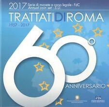REPUBBLICA ITALIANA - DIVISIONALE 2016 60° ANNIVERSARIO DEI TRATTATI DI ROMA FDC
