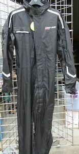 BRP CAN AM  SPYDER MOTORCYCLE MENS ONE PIECE WATERPROOF RAIN SUIT LARGE NEW (77)