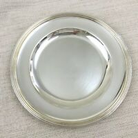 Christofle Silver Plated Serving Tray Antique French Art Deco Presentation Dish