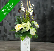 Artificial Flowers- Elegant Yellow Arrangement - for Home Decor or Gifting