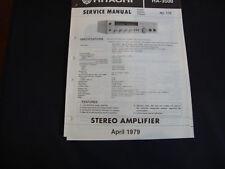Original SERVICE Manual Hitachi ha-3500