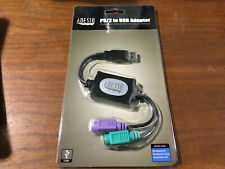 NEW Adesso PS/2 to USB Adapter