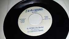 LA JUSTICIA BAND That Night In September  El Ritmo SA SOUND 101 LATIN SOUL 45 7""