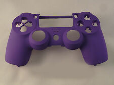 Soft Touch Purple Front Face Shell For PS4 Controller - New - For current gen
