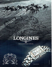 Publicité Advertising 028  2011   montre  Longines  Dolce Vita prix  Diane