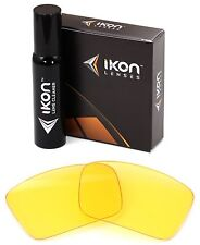 Polarized IKON Replacement Lenses For Oakley Oil Drum Sunglasses HD Yellow