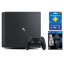 PS4 Pro 1TB + parte nos The Last of + 3 mes PlayStation Plus II Membership