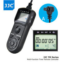 JJC LCD Timer Remote Control for Canon EOS 5D Mark IV III II 7D 6D Mark II 5DS R