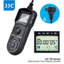 Control Remoto Temporizador LCD JJC para Canon EOS 5D Mark 7D 6D Mark IV III II 5DS R II