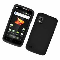 Rubberized Hard Shell Faceplate Cover Case for Boost Mobile ZTE Warp N860 Phone