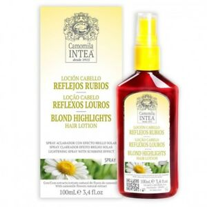 INTEA Camomile NATURAL BLOND HIGHLIGHTS HAIR LOTION spray100ml - natural lotion