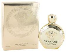 VERSACE EROS POUR FEMME 3.4 oz 3.3 edp Perfume New in Box