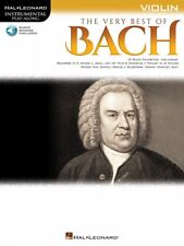 The Very Best of Bach Instrumental Play-Along for Violin Instrumental 000225378