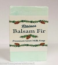 Paine's Balsam Fir Premium Goat Milk Soap 4.5 oz bar fresh Maine made natural