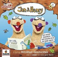 JAN & HENRY - 001: 8 RÄTSEL UND 2 GESCHICHTEN   CD NEU