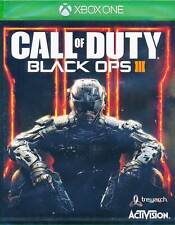 Call of Duty Black Ops 3 III Xbox One Game BRAND NEW SEALED