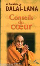 """Livre Philosophie-Bouddhisme """" Conseils du Coeur Dalaï Lama """"  ( No 901 ) Book"""