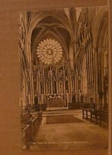 Unposted Postcard Durham Cathedral, The Neville Screen
