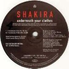 "Shakira Underneath Your Clothes Dj USA 12"" Thunderpuss Mixes"