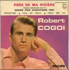 "ROBERT COGOI ""PRES DE MA RIVIERE"" 60'S EP"