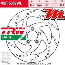 Disque de frein Avant TRW MST500SWL Harley Davidson XL 883 R Roadster XL2 2013