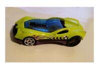 Hot Wheels Stunt Team CUL8R Mattel 2003 Lime Green Die Cast Car  Loose 1: 64