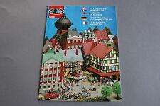 X130 HELJAN Train maquette decor catalogueHoN 1984 32 pages 29,7*21 cm F Ang D