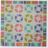 Wheels of Fortune - foundation paper pieced quilt PATTERN - Emma Jean Janson