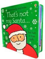 Thats Not My Santa (Touchy-Feely Board Books)