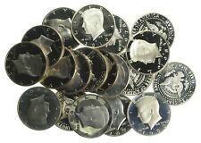 PROOF Roll Kennedy Half dollar $10.00 20 Coins Lot Collection Mixed Date *446