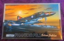 FUJIMI 1:72 BRITISH PHANTOM F-4 FG.1 SILVER JUBILEE model kit H-6 1987 1st issue