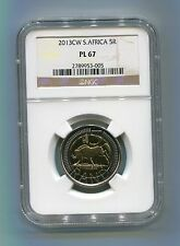 South Africa 2013 R5 Oom Paul CW PL 67 Coin Ngc Slabbed Proof Like Coin