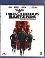BLU-RAY INGLOURIOUS BASTERDS  Quentin Tarantino - Brad Pitt - SEALED SOUS CELLO