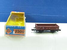 Roco N 2309 Niederbordwagen 41542 braun 2achsig DB OVP (y4224)