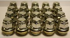 20 X M12 X 1.5 STANDARD REPLACEMENT ALLOY WHEEL NUTS FIT FORD FOCUS CMAX 07>10