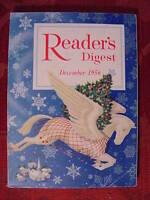 Readers Digest December 1956 Igor Sikorsky Ira Wolfert Clifton Fadiman Christmas
