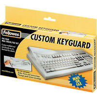 Fellowes 99680 Keyboard Cover Kit Tear//Abrasion Resistant Antimicrobial