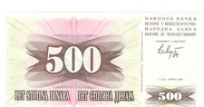 BOSNIA AND HERZEGOVINA 500 Dinara 1992 Checkout fresh P.14a