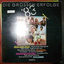 DIE GROSSEN ERFOLGE 83  DDR AMIGA  LP: TINA  LIPPI NRC
