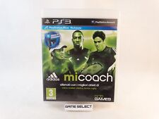 ADIDAS MICOACH MI COACH SONY PS3 PLAYSTATION 3 PAL EU EUR ITA ITALIANO COMPLETO