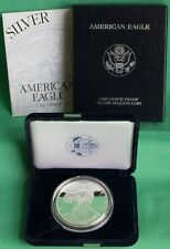 1999 American Siver Eagle Coin Proof Dollar US Mint ASE with Box and COA