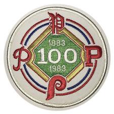 1983 PHILADELPHIA PHILLIES 100TH YEAR ANNIVERSARY MLB BASEBALL JERSEY PATCH